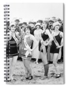 Film Still: Beauty Pageant Spiral Notebook