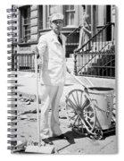 Film Still: Street Cleaner Spiral Notebook