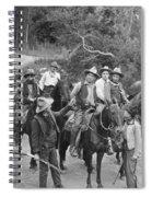 Film: Sunset Jones, 1921 Spiral Notebook