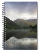 Fin Lough, Delphi Valley, Co Galway Spiral Notebook