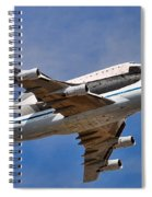 Final Flight Endeavour Spiral Notebook