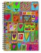 find U'r Love found    v15 Spiral Notebook