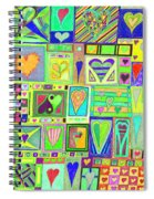 find U'r Love found    v18 Spiral Notebook