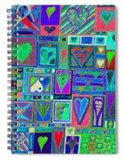 find U'r Love found    v13 Spiral Notebook