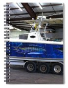 Fine Art Boat Wraps Spiral Notebook