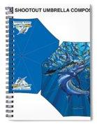 Fine Art Umbrellas Spiral Notebook