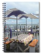 Fine Dining On The Gulf Coast Spiral Notebook