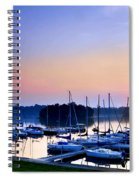 Fine Sailing Morning Coming Up Spiral Notebook