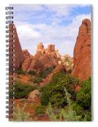 Fins Spiral Notebook