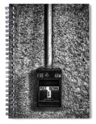 Fire Arm Pull Down Spiral Notebook