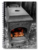 Fire Box Spiral Notebook