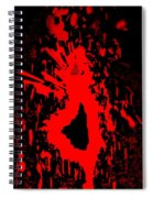 Fire Dance Spiral Notebook