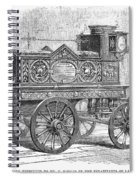 Fire Engine, 1862 Spiral Notebook