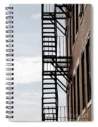 Fire Escape In Boston Spiral Notebook