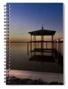 Fire Lake Spiral Notebook