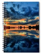 Fire Over Seven Springs Spiral Notebook