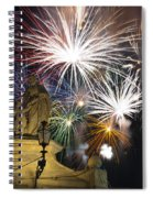 Fire Saints Spiral Notebook