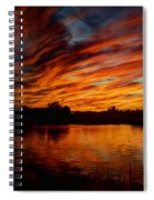 Fire Sky II  Spiral Notebook
