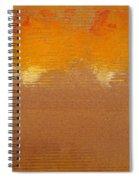 Fire Storm Spiral Notebook