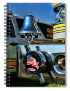 Fire Truck Bell Spiral Notebook