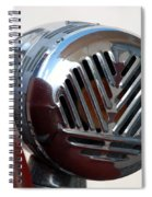Fire Truck Siren Spiral Notebook
