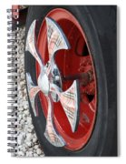 Fire Truck Spinner Spiral Notebook