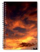 Fireclouds Spiral Notebook