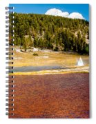 Firehole Lake Spiral Notebook