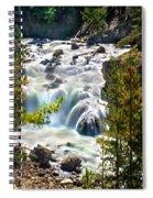 Firehole River Falls Spiral Notebook