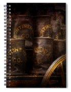 Fireman - Bucket Brigade  Spiral Notebook