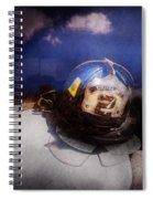 Fireman - Captains Hat Spiral Notebook
