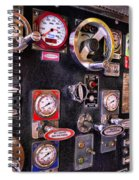 Fireman - Discharge Panel Spiral Notebook