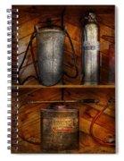 Fireman - Fire Control Spiral Notebook