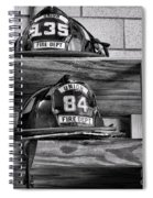 Fireman - Fire Helmets Spiral Notebook
