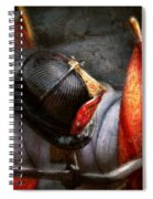 Fireman - Hat - South Plainfield Fire Dept Spiral Notebook