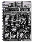 Fireman - Jackets Helmets And Boots Spiral Notebook