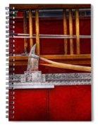 Fireman - Nice Axe  Spiral Notebook