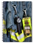 Fireman - The Fireman's Coat Spiral Notebook