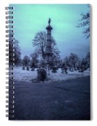 Firemans Monument Infrared Spiral Notebook