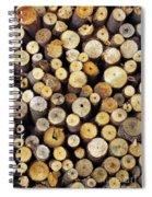 Firewood Spiral Notebook