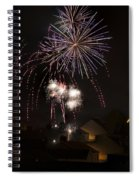 Fireworks 1 Spiral Notebook