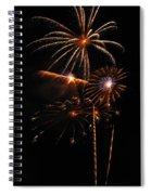 Fireworks 1580 Spiral Notebook