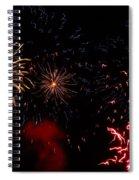 Fireworks At Oshkosh Airventure 2012. 01 Spiral Notebook