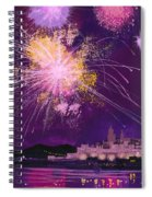 Fireworks In Malta Spiral Notebook