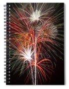 Fireworks Light Up The Night Spiral Notebook