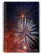 Fireworks Rectangle Spiral Notebook