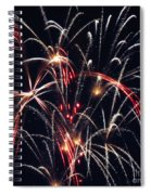 Fireworks Two Spiral Notebook