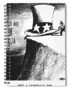 Firing Of Macarthur, 1951 Spiral Notebook