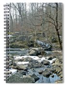 First Kiss Of Winter Spiral Notebook
