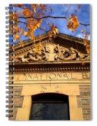 First National Bank Spiral Notebook